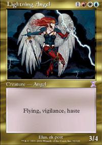 Lightning Angel - Foil