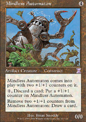 Mindless Automaton - Foil