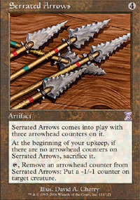 Serrated Arrows - Foil