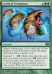 Cyclical Evolution - Foil on Channel Fireball