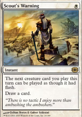 Scout's Warning - Foil