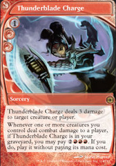 Thunderblade Charge - Foil