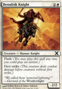 Benalish Knight - Foil