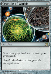 Crucible of Worlds - Foil on Channel Fireball