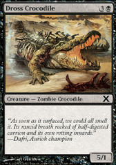 Dross Crocodile - Foil