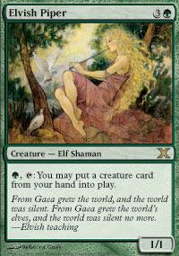 Elvish Piper - Foil