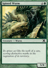 Spined Wurm - Foil