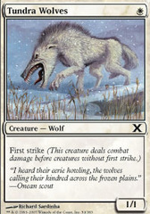 Tundra Wolves - Foil