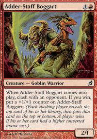 Adder-Staff Boggart - Foil
