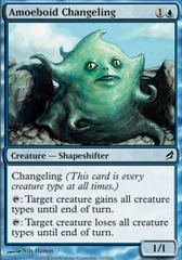 Amoeboid Changeling - Foil