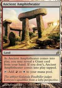 Ancient Amphitheater - Foil