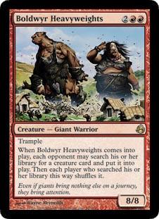 Boldwyr Heavyweights - Foil