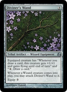Diviner's Wand - Foil
