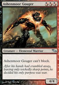 Ashenmoor Gouger - Foil