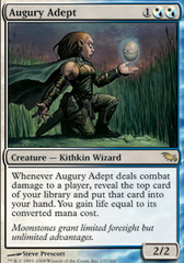 Augury Adept - Foil on Channel Fireball