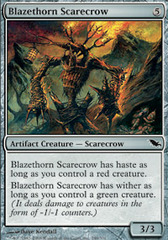Blazethorn Scarecrow - Foil on Channel Fireball