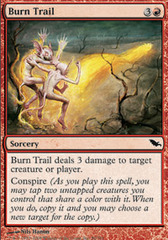 Burn Trail - Foil on Channel Fireball