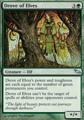 Drove of Elves - Foil