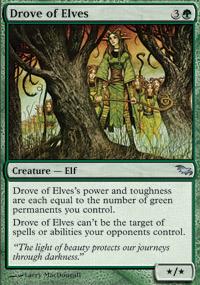 Drove of Elves - Foil