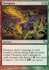 Firespout - Foil on Channel Fireball