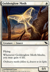 Goldenglow Moth - Foil