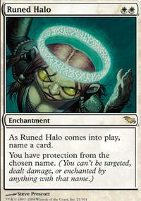 Runed Halo - Foil