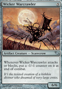 Wicker Warcrawler - Foil