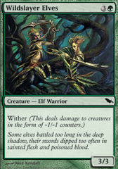 Wildslayer Elves - Foil