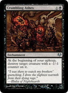 Crumbling Ashes - Foil