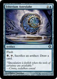 Etherium Astrolabe - Foil