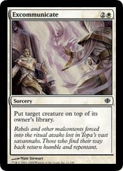 Excommunicate - Foil on Channel Fireball
