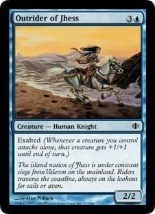 Outrider of Jhess - Foil