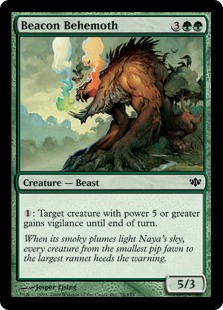 Beacon Behemoth - Foil