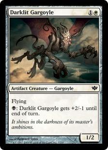 Darklit Gargoyle - Foil
