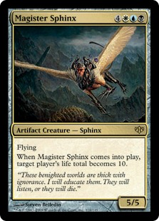 Magister Sphinx - Foil