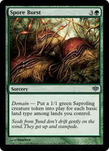 Spore Burst - Foil