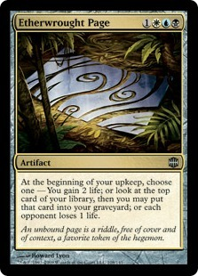 Etherwrought Page - Foil