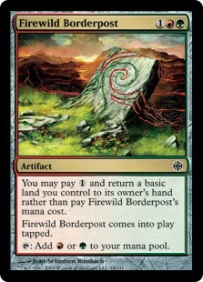 Firewild Borderpost - Foil