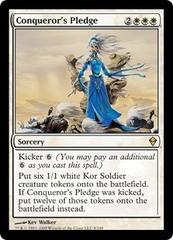 Conqueror's Pledge - Foil on Channel Fireball