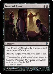 Feast of Blood - Foil