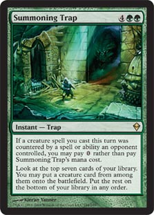Summoning Trap - Foil
