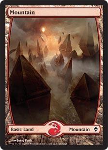 Mountain (243) - Full Art - Foil