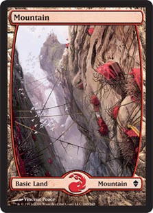 Mountain - Full Art (245) - Foil