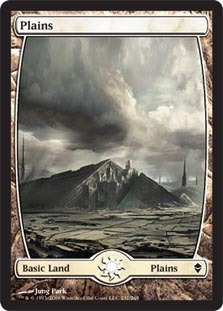 Plains (231) - Full Art - Foil