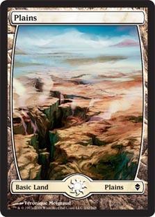 Plains (232) - Full Art - Foil