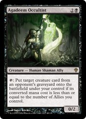 Agadeem Occultist - Foil on Channel Fireball