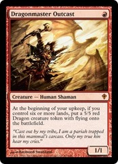Dragonmaster Outcast - Foil (WWK)