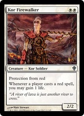 Kor Firewalker - Foil on Channel Fireball