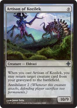 Artisan of Kozilek - Foil