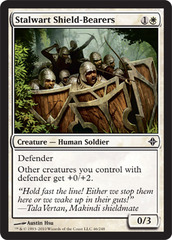 Stalwart Shield-Bearers - Foil